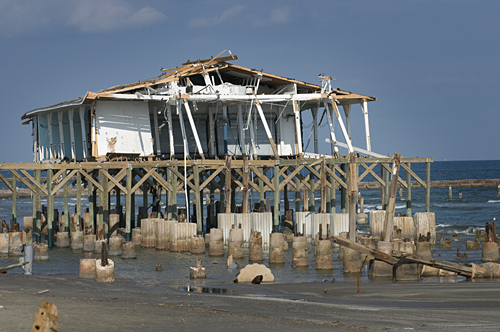 Hurricane Ike Photograph