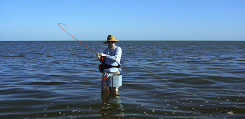 Laguna Madre speckled trout fly fishing