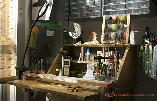 Fly Tying Bench Cleaning