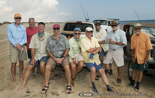 Laguna Madre Fly Fishing Association Annual run to Port Mansfield Cut