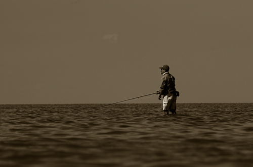 fly fishing on the laguna madre