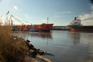 Tanker struck in Port Arthur channel