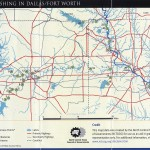River Fishing in Dallas Fort Worth – Maps are Power