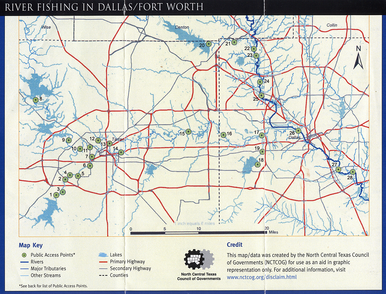 River fishing in dallas fort worth maps are power fly for Fishing spots in dallas