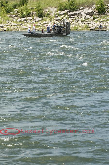 Denison Dam airboat