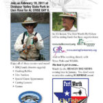 From Fort Worth Fly Fishers – Al Crise Day February 19 at Dinosaur Valley State Park