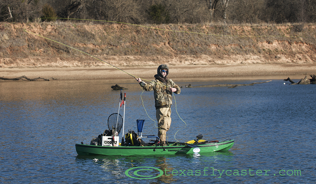 Diablo paddlesports catch the new wave at texasflycaster for Best fly fishing kayak