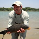 Black Carp on the Flats