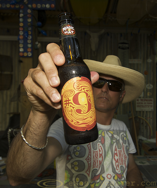 Fine Not Quite Pale Beer from Magic Hat Brewery Vermont