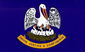 State of Louisiana flag