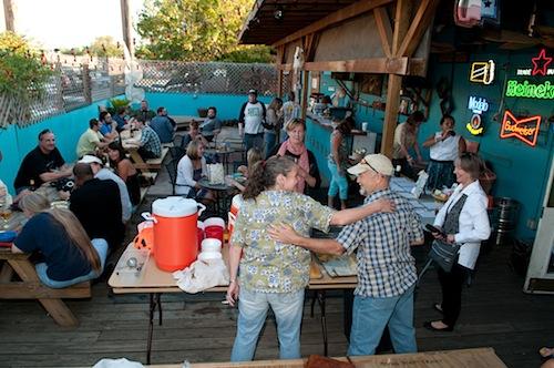 Bastrop Benefit at Dan's Silver Leaf Denton Texas