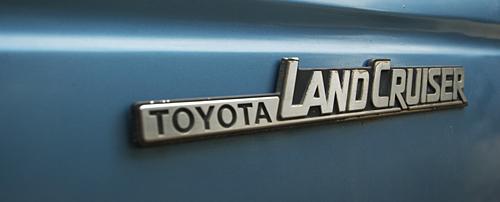 1984 Toyota FJ 60 Land Cruiser