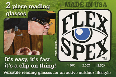 Flex Spex in the online Texas Fly Caster Fly Shop