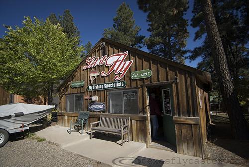 Let it Fly Pagosa Springs fly shop in Colorado.