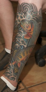 cutthroat trout tattoos