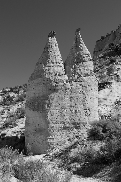 Tent Rocks National Monument, Cochiti, New Mexico.