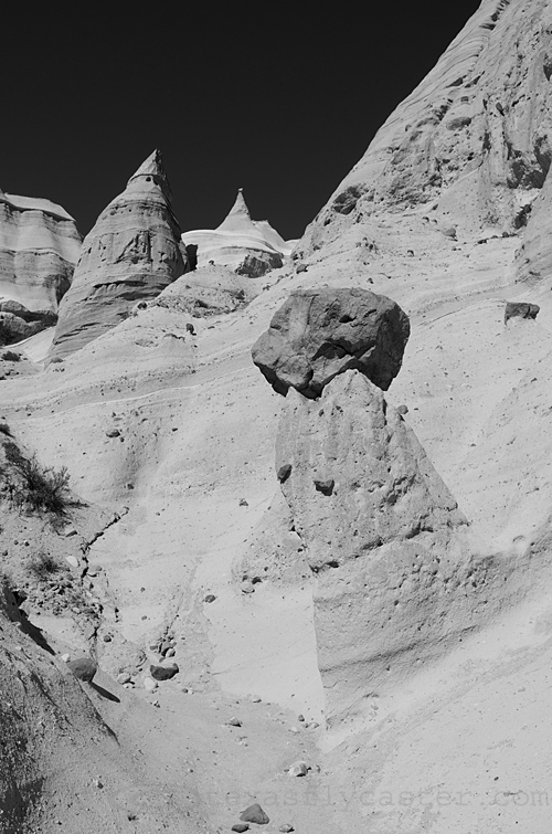Tent Rocks at Tent Rocks National Monument, Cochiti, New Mexico.