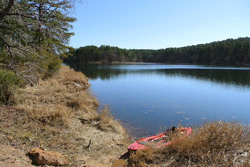 Clear Water at Daingerfield State Park