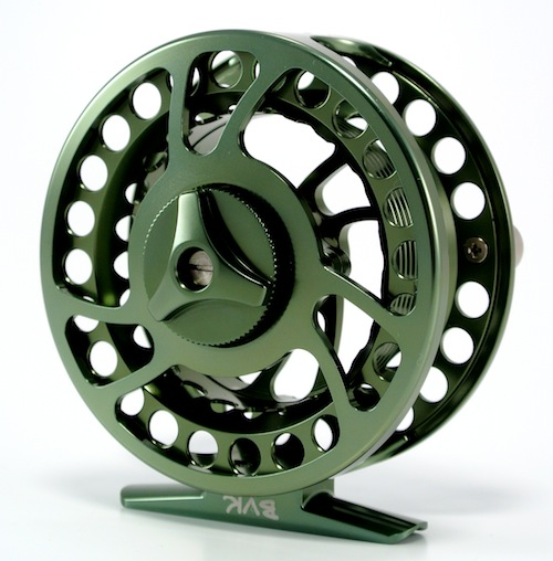 BVK Machined aluminum reel by Temple Forks Outfitters.