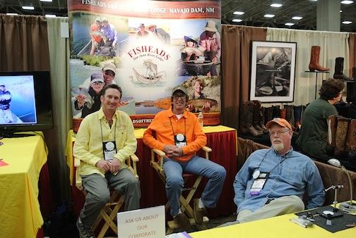 Dallas safari club show 2012 fly fishing in texas fly for Fish heads san juan