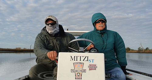 On The Fly in the Mitzi - Louisiana Redfishing