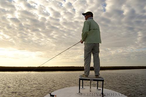 Louisiana redfish on fly