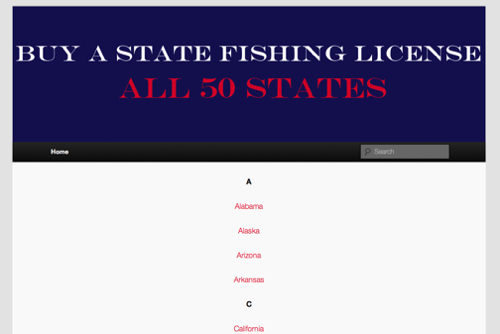 Buy a State Fishing License