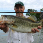 Quick Fly Fishing Update – Hybrid Sand Bass and Largemouth Bass Action