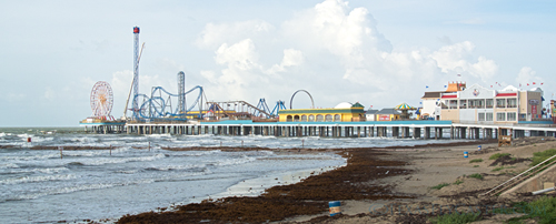 pleasure pier in galveston texas