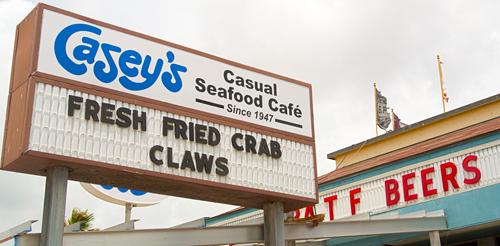 Casey's Casual Seafood Cafe Galveston Texas