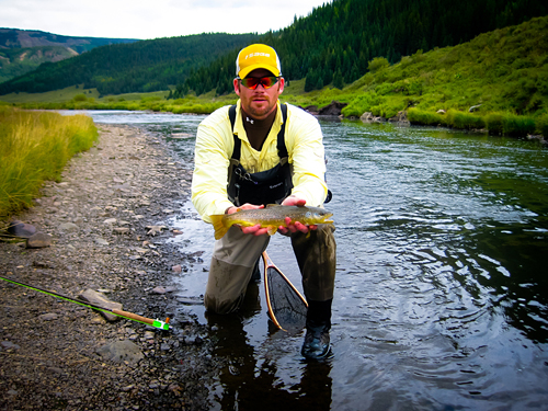 Texas Fly Fisher - Clint Keating in Southern Colorado - Courtesy Clint Keating