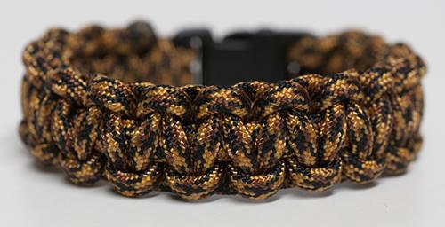 Carp Colored Para Cord Bracelet