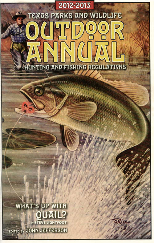 TPWD Fly Fishing Outdoor Annual Cover