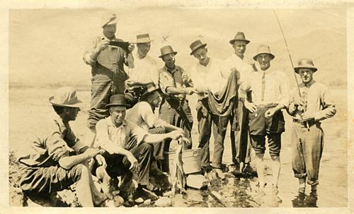 Antique fish photograph