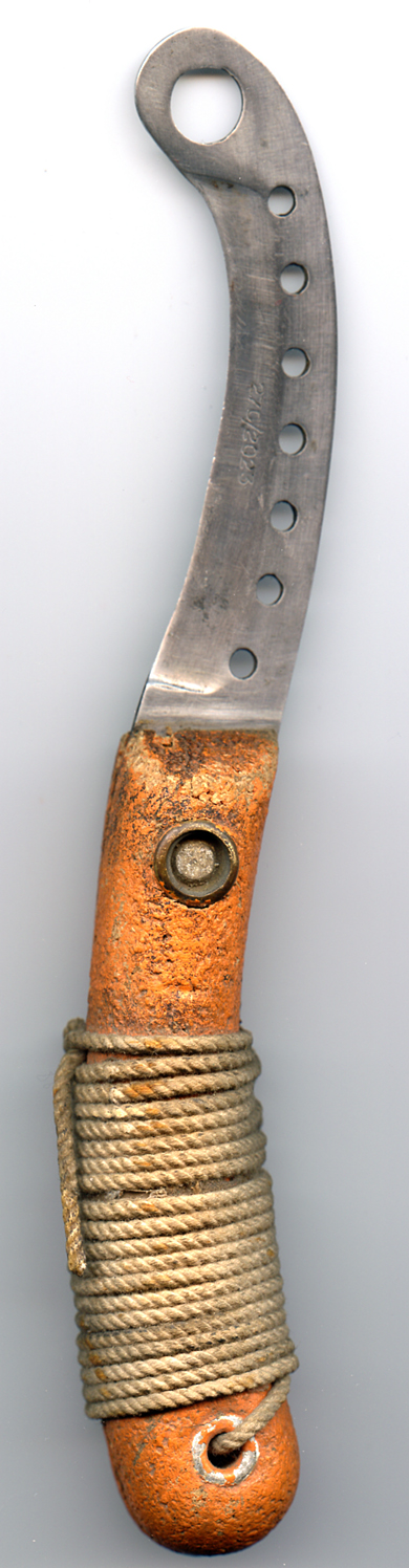 lifeboat knife circa 1947