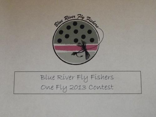 Blue One Fly - Image Courtesy Barry Schrader