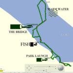 GPS of Monticello Lake