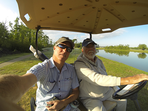 Fly Fishing Tomball CC Monday