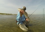 redfish texas gulf coast on fly