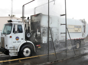 Automated Truck Wash