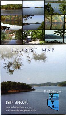 Tourist Map Lower Mountain Fork