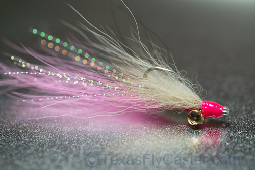 Clouser minnow for Texas Saltwater fly fishing