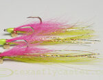 Flounder Color Clouser Fly for Saltwater on the Texas Gulf Coast