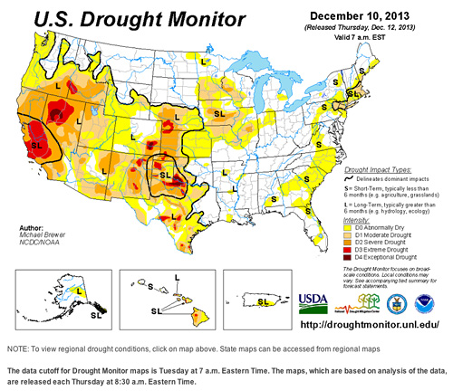 National Drought Map