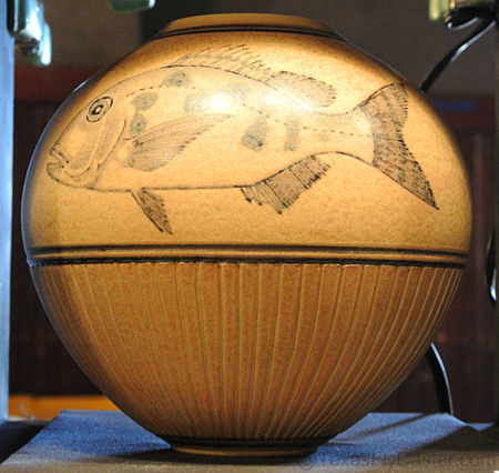 V Chin Pottery