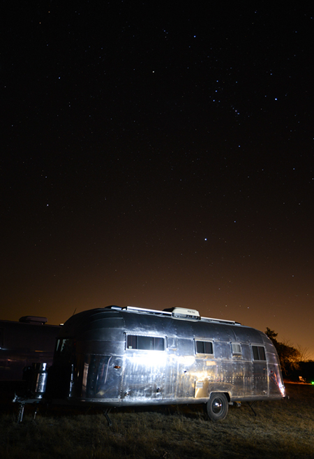 Airstream Trailer LBJ Grasslands