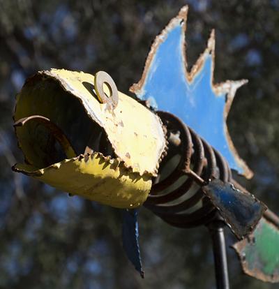flying fish art ben wheeler texas