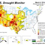 Drought Map USA