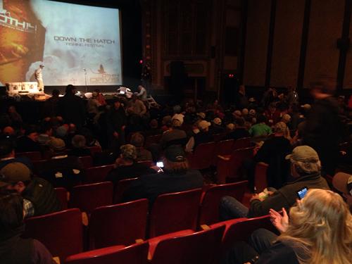Down the Hatch in theater Courtesy Joyce Davis