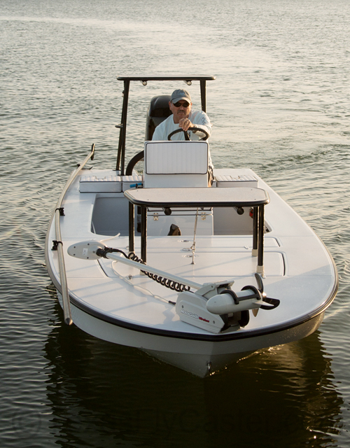 East Cape Fury shallow water skiff Texas